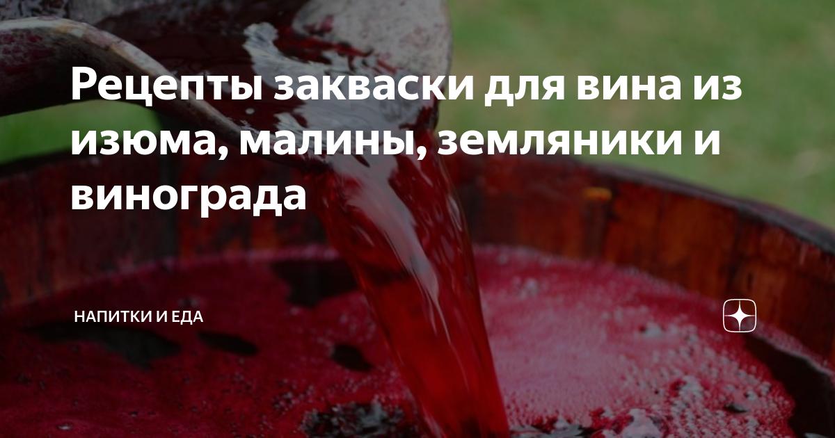 Закваска для вина: как сделать из винограда, винные дрожжи