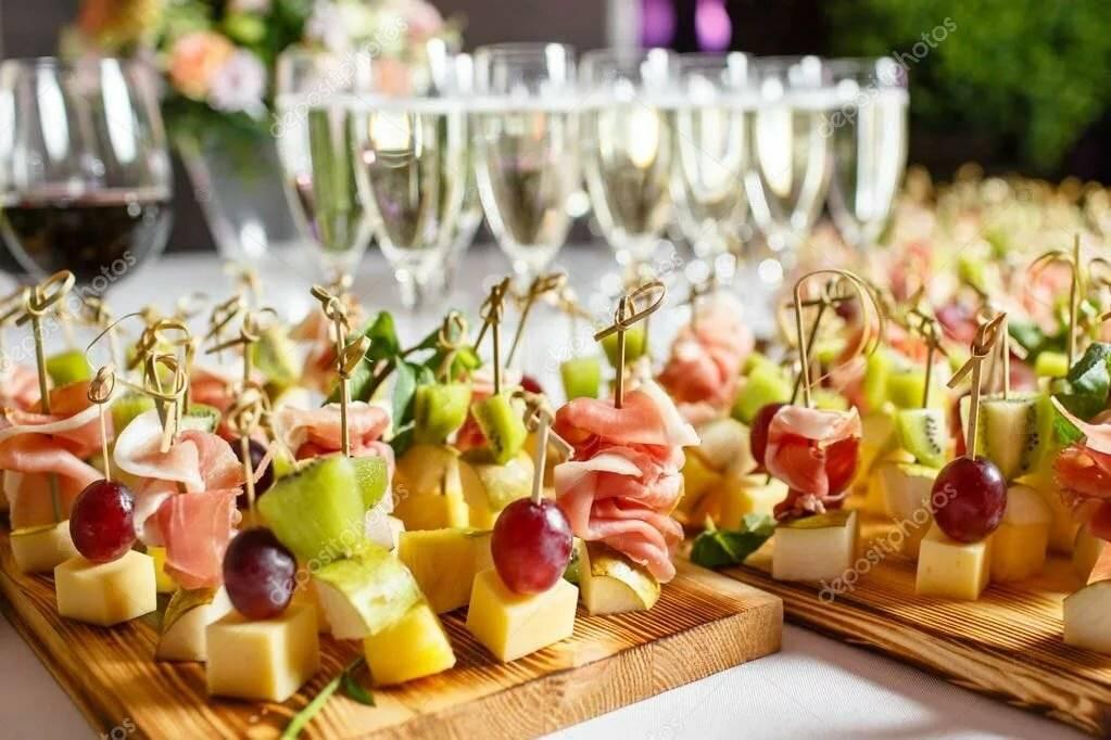 Закуска к шампанскому - полноценное блюдо