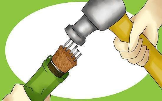Как открыть вино без штопора, обычные и оригинальные способы
