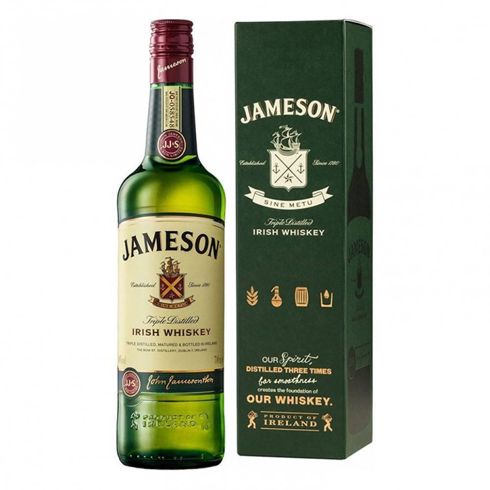 Jameson — старинный ирландский виски