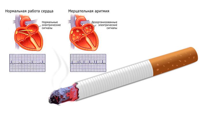 Как курение влияет на кровеносную систему человека