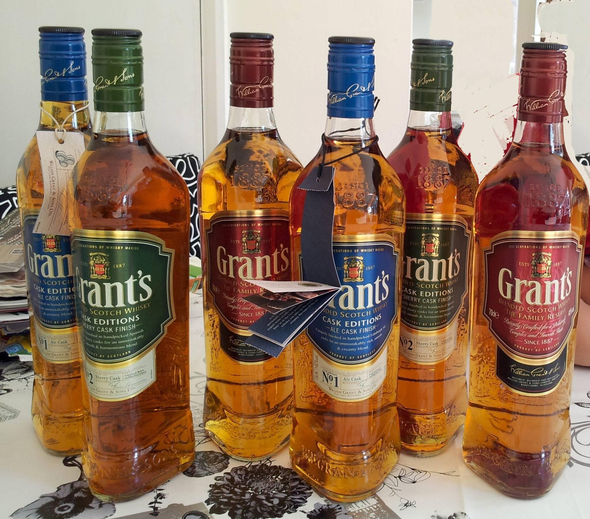 Виски grants: описание шотландского grant s, производитель, особенности изготовления, разновидности напитка
