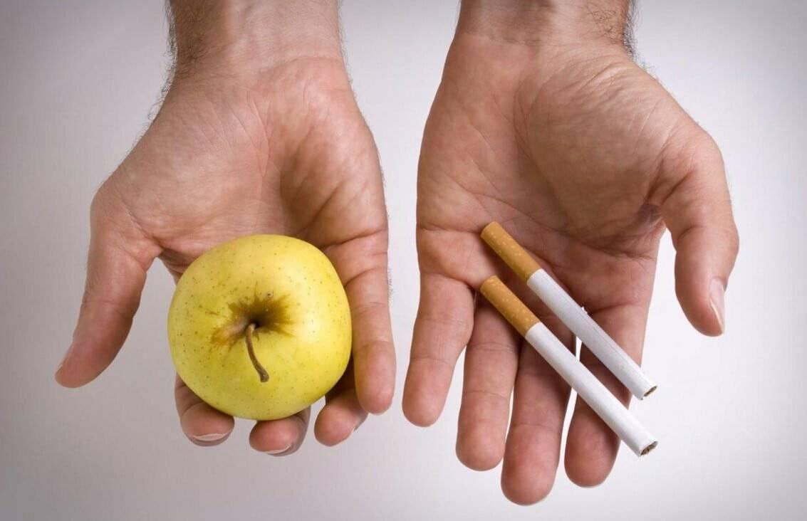 Что полезно есть, когда бросаешь курить