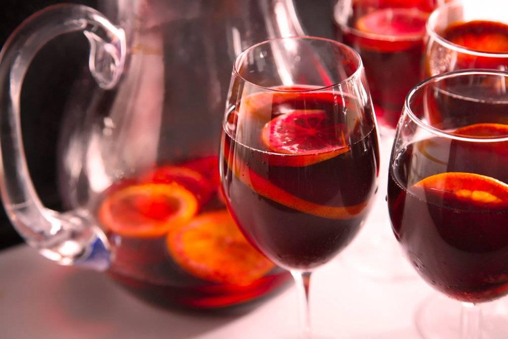 Сангрия: рецепты приготовления в домашних условиях – как правильно пить