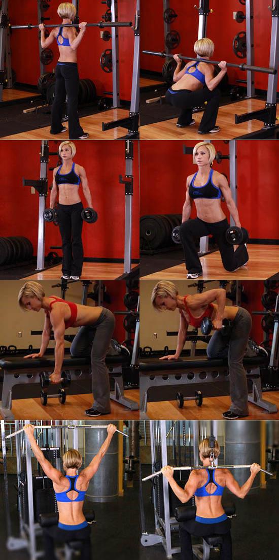 Упражнения для похудения в тренажерном зале: эффективная система