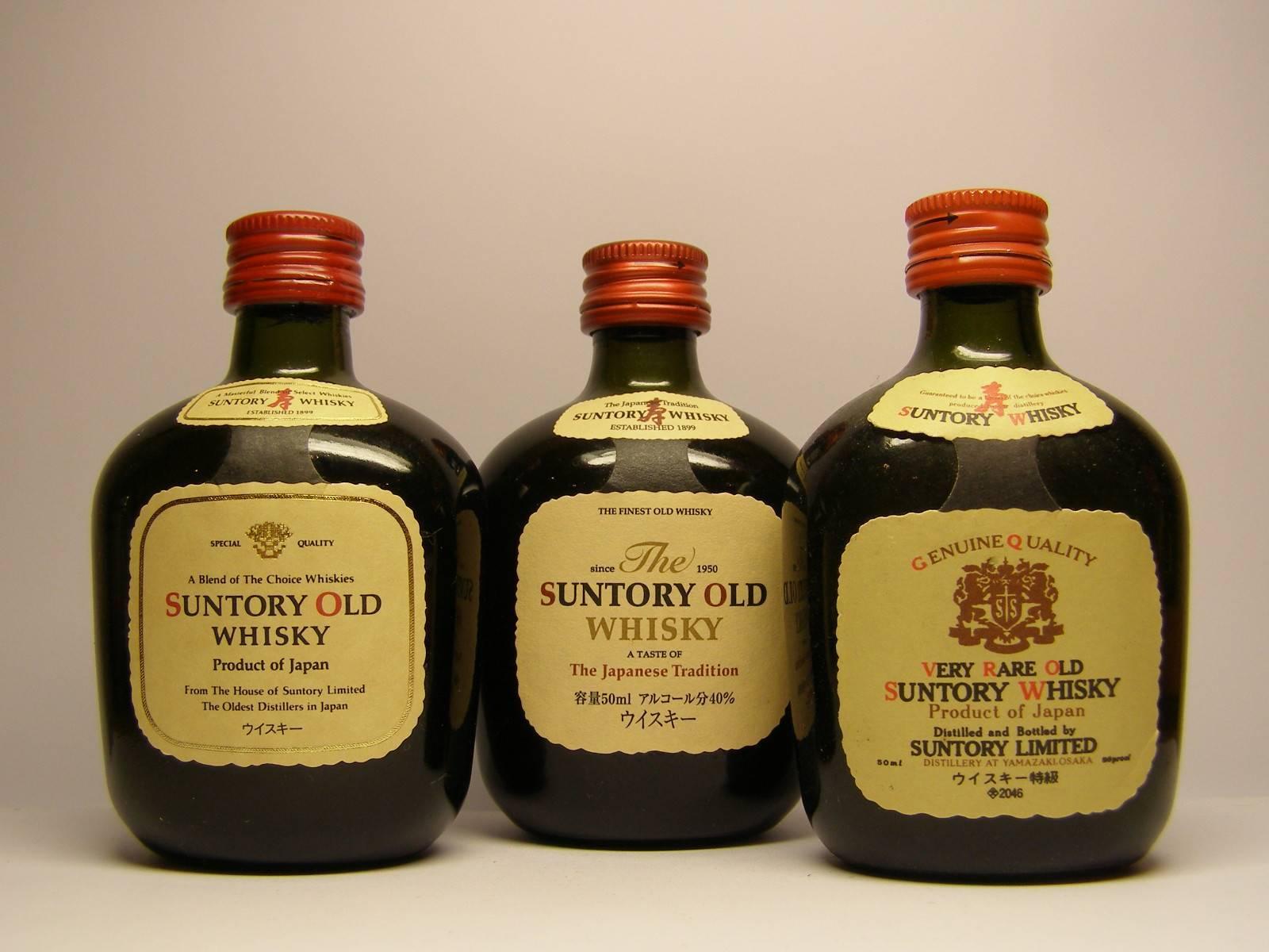 Виски сантори - характеристика напитка + видео | наливали