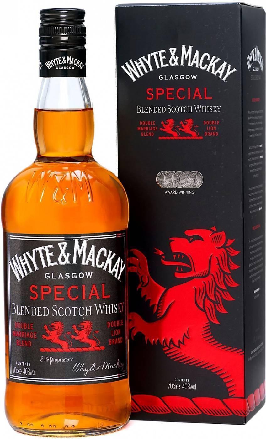 Обзор виски Whyte and Mackay Special (Уайт энд Маккей Спешиал)