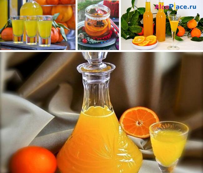 Как сделать апельсиновый ликер в домашних условиях?