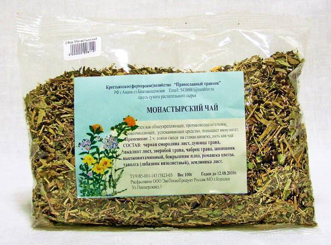 Монастырский чай от алкоголизма: снятие зависимости, состав, реальные отзывы
