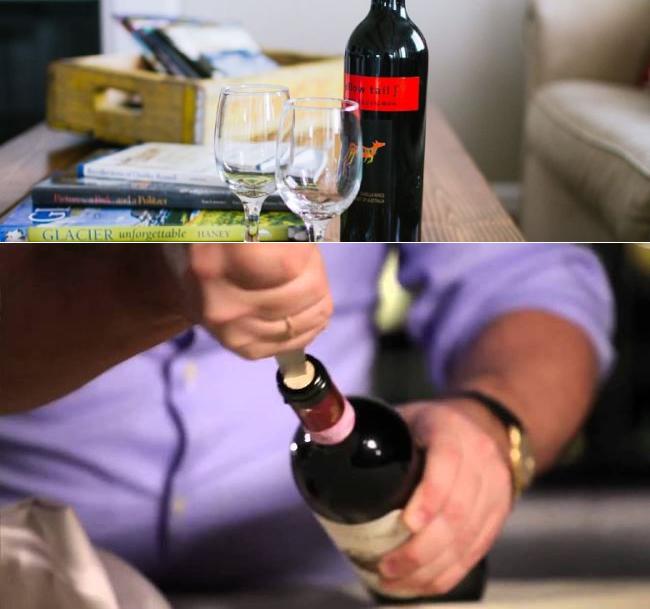 Можно ли открыть вино без использования штопора, эффективные методы