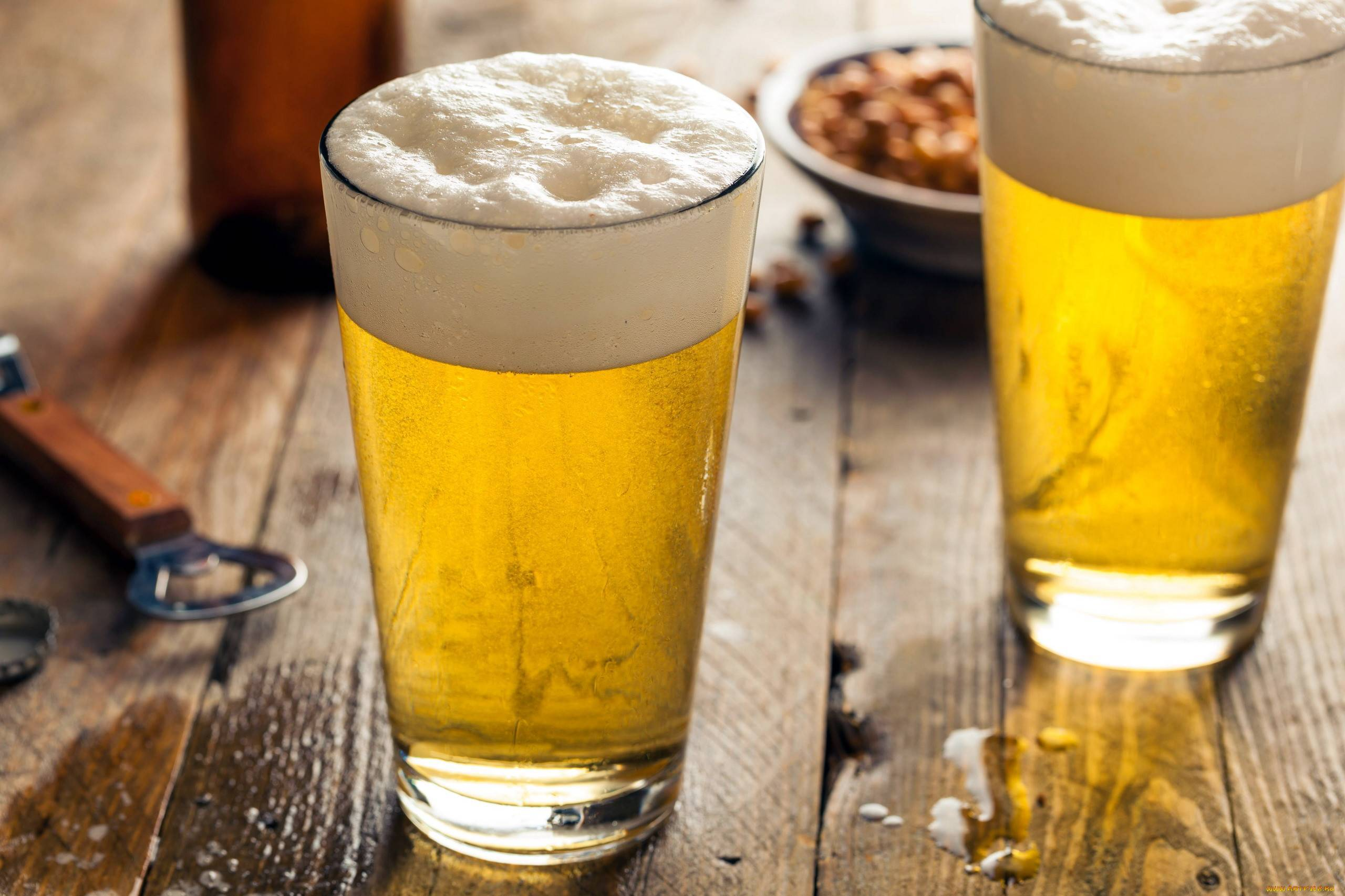 Чем отличается тёмное пиво от светлого