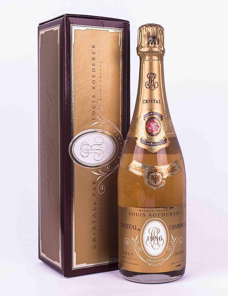 Шампанское cristal louis roederer champagne aoc 2009 — шампанское «кристалл» луи родерер 2009, 750 мл