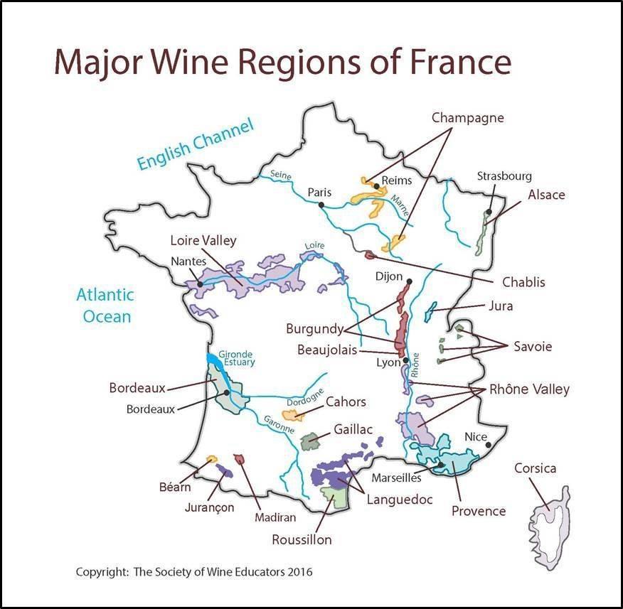 Все о французских винах – сорта, производители, регионы, рейтинг
