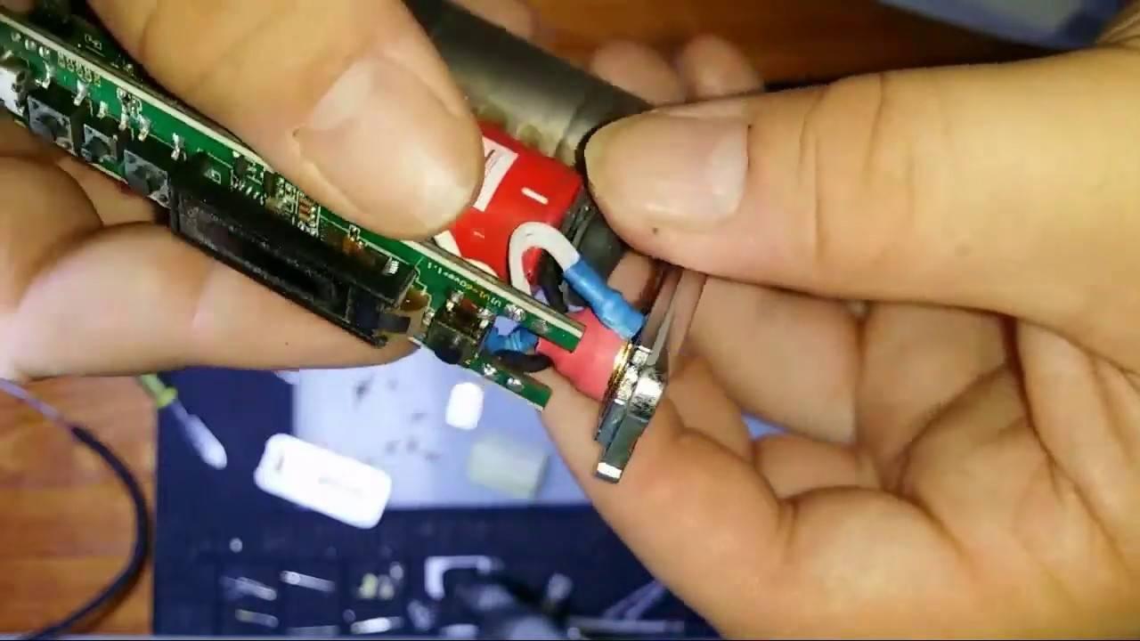 Ijust 2 как разобрать аккумулятор