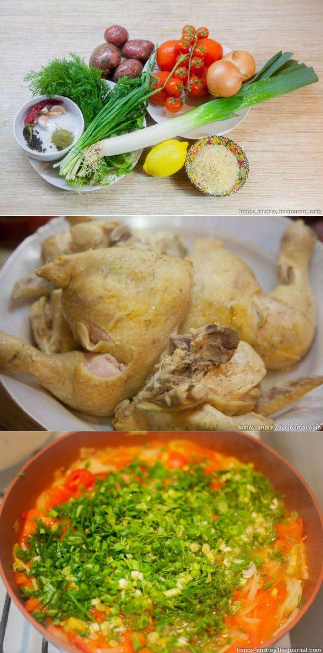 Похмельный суп: рецепты с фото