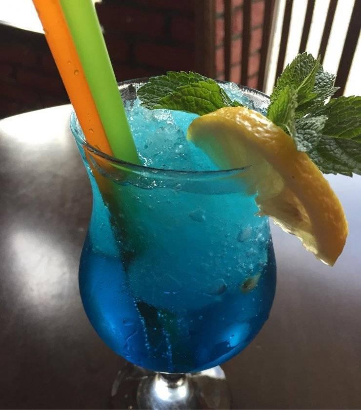 Гавайские коктейли: рецепты, способы приготовления, состав. коктейль голубые гавайи