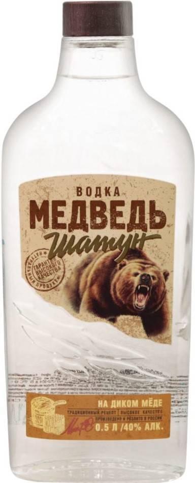 Водка медведь описание, информация о производителе и результаты независимого тестирования
