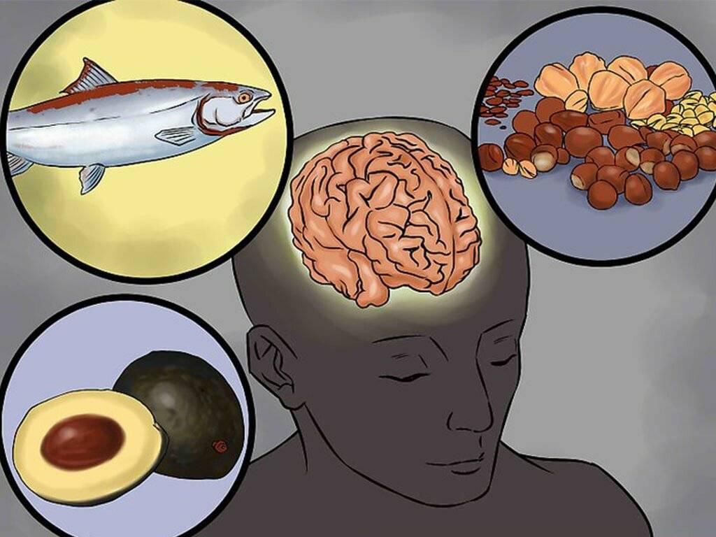 Какие продукты можно есть при сотрясении мозга