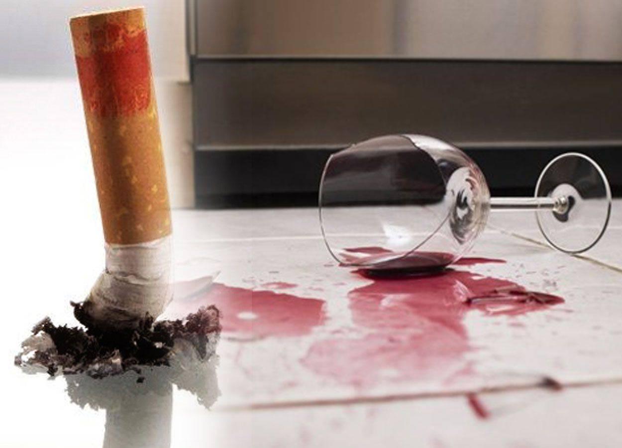 Как влияет курение на похмелье. каково негативное влияние курения и алкоголя на человека