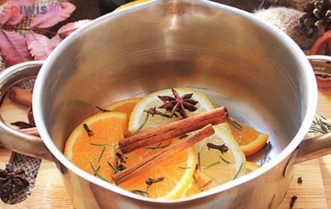 Глинтвейн рецепт классический с апельсином - вкусные блюда
