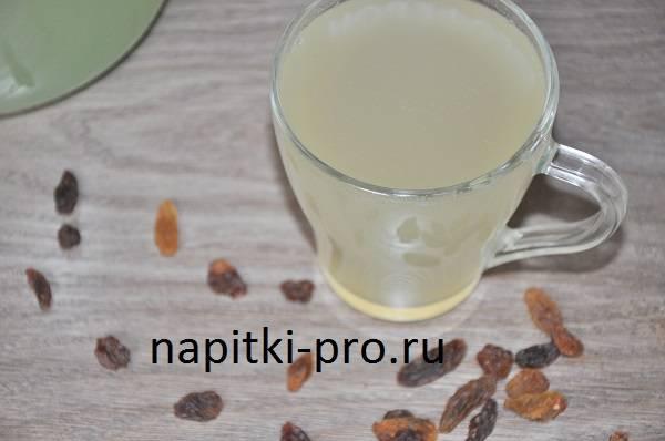 Березовый квас с изюмом – оригинальный витаминный напиток. лучшие рецепты березового кваса с изюмом