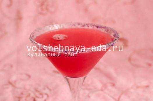 Розовая пантера коктейль рецепт