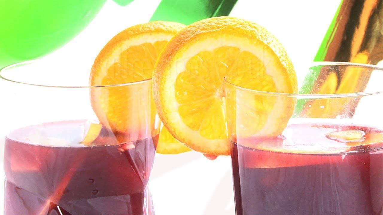 Сангрия. рецепты в домашних условиях классического, безалкогольного, алкогольный из красного, белого, розового вина, со спрайтом