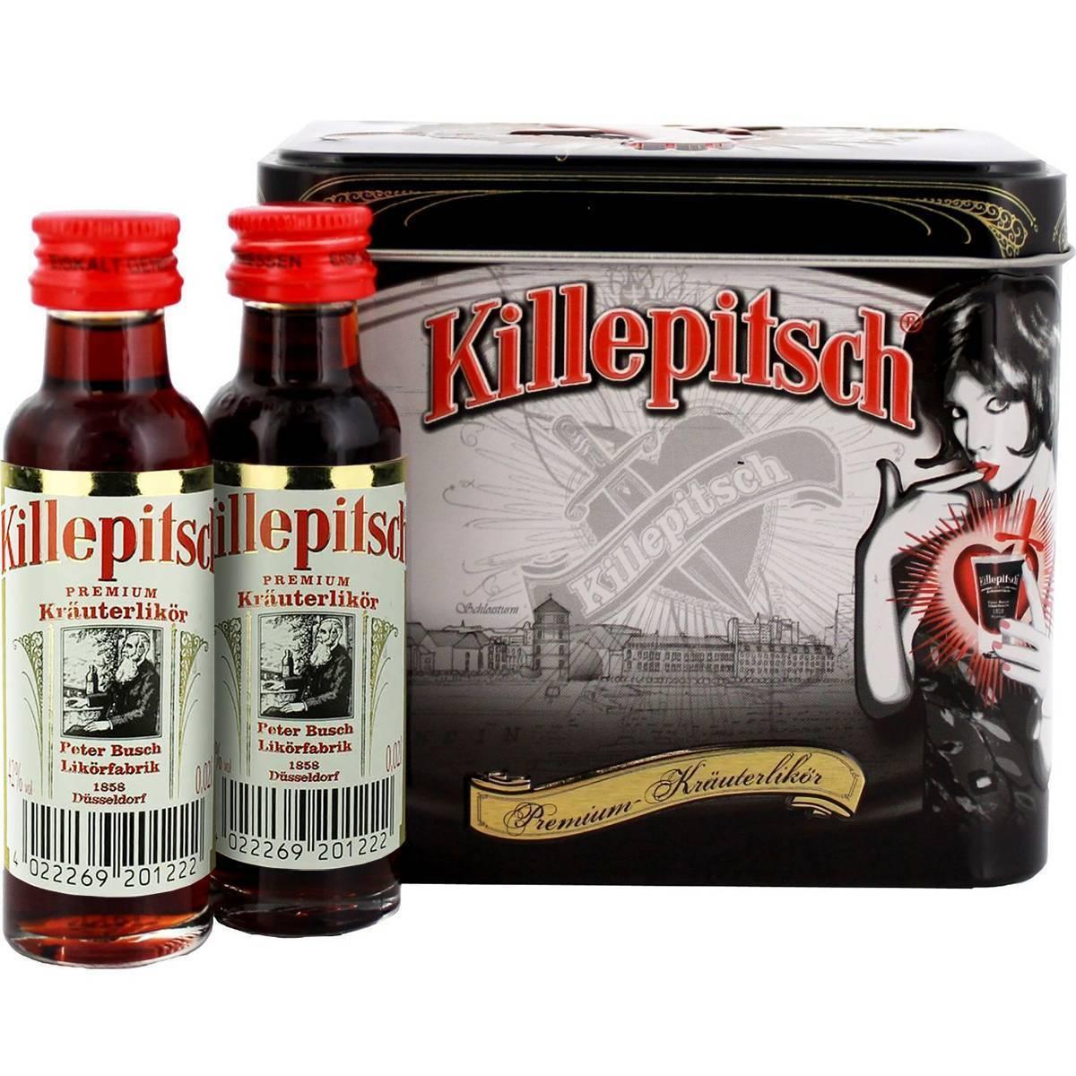 Ликер «киллепич (killepitsch)» – описание и особенности