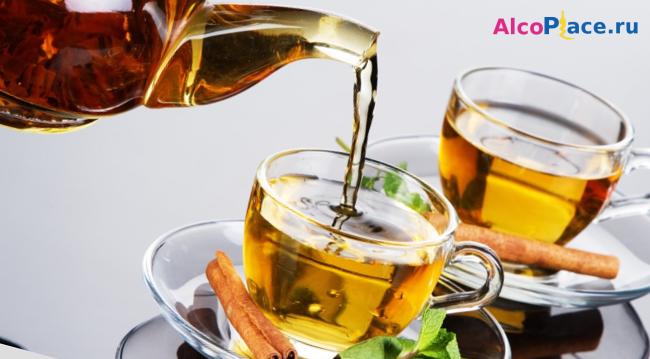 Чай с коньяком: польза и вред, рецепт при простуде