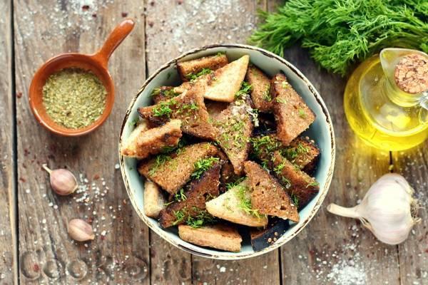 Гренки к пиву / хлебные закуски / tvcook: пошаговые рецепты с фото