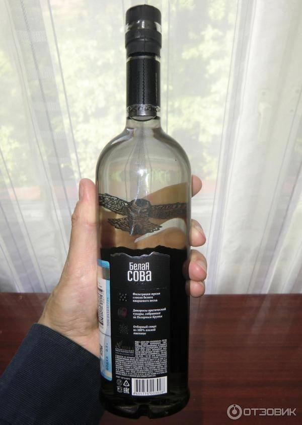 Водка мороша на мин.воде №1 или водка белая сова классическая — что лучше