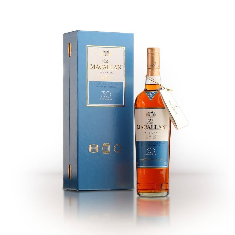 Виски макаллан (macallan) в бочках от 12-30 лет и больше