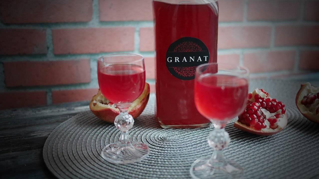 Домашний гранатовый ликер – кулинарный рецепт