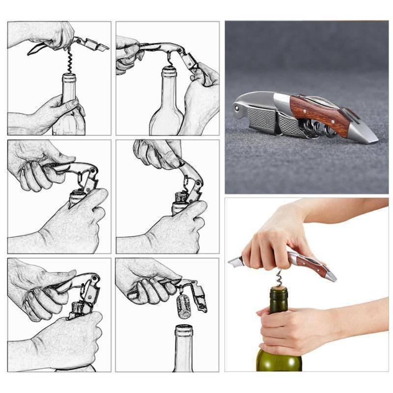 Как открыть бутылку вина без штопора на улице – инструкция