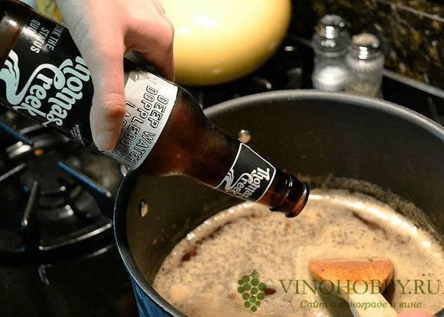 Горячее пиво при простуде от кашля: рецепт теплого пива с медом