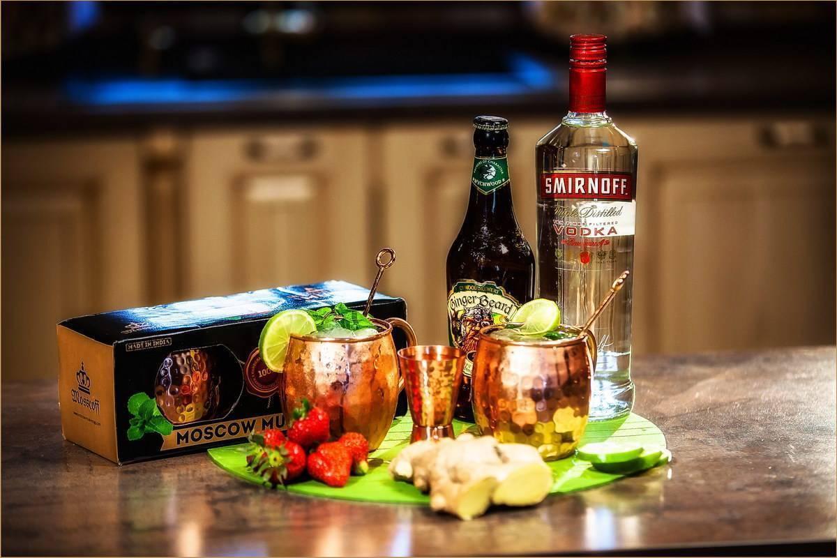 Московский мул: история создания коктейля, рецепты приготовления, состав, вариации напитка | mosspravki.ru