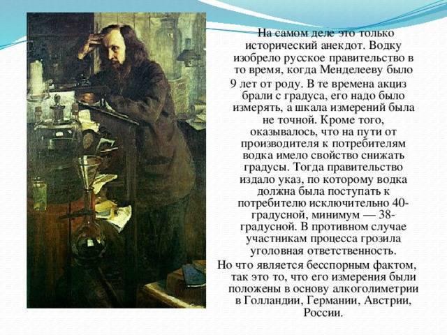 Кто придумал водку? экскурс в историю — кто придумал русскую водку.