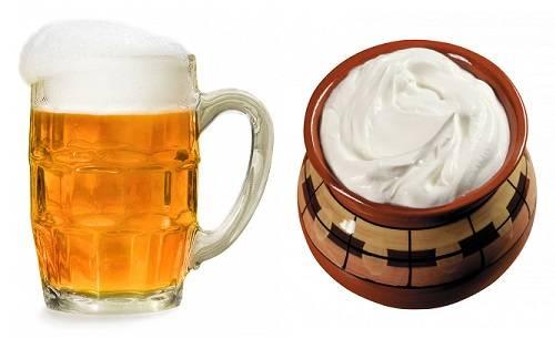 Правда ли что пиво со сметаной помогает набрать вес?