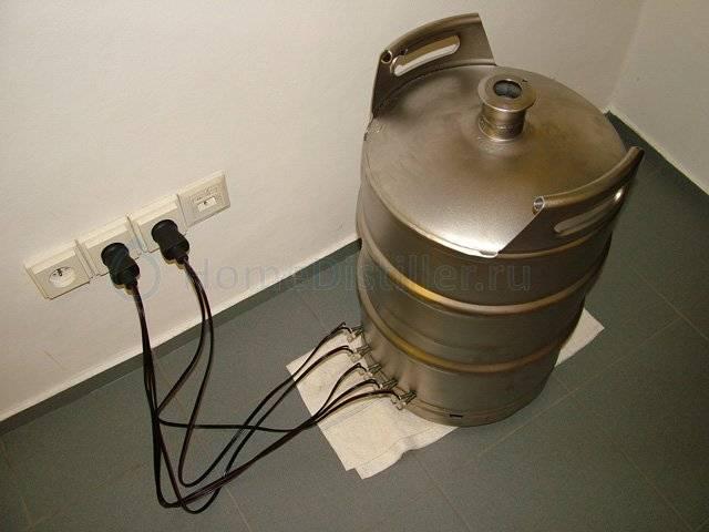 Самогонный аппарат из пивной кеги купить. этапы изготовления самогонного аппарата из пивной кеги, фляги или молочного бидона. что представляет собой кега, используемая для создания перегонного куба