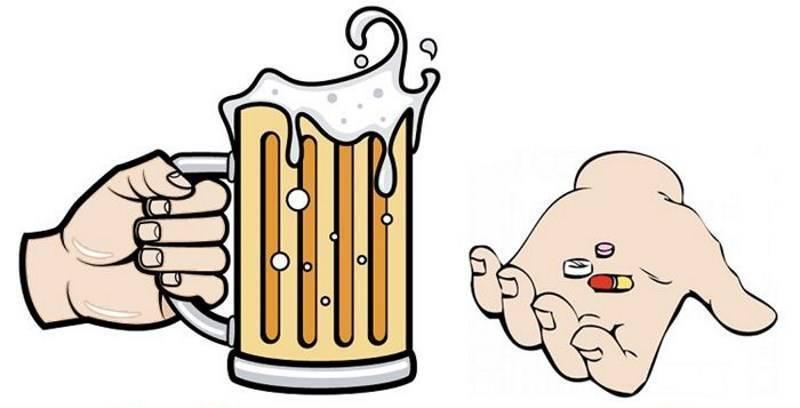Через сколько после алкоголя можно пить антибиотики и что будет, ели выпить сразу?