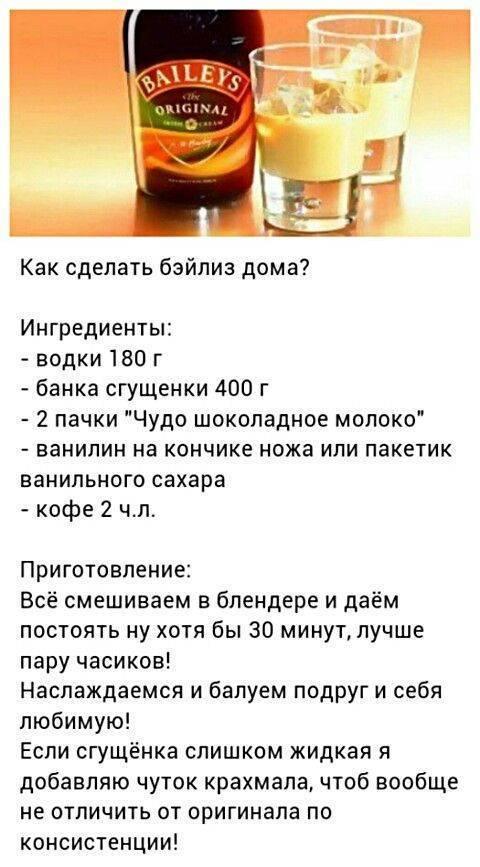 Ликёр - рецепты