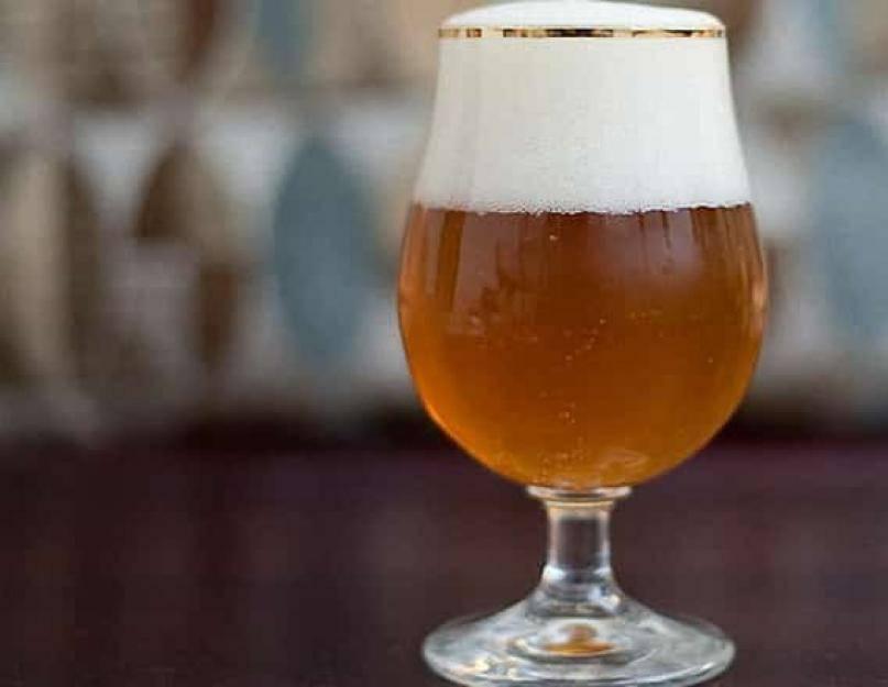 Рецепт домашнего ржаного пива (из ржаного солода), алкопроф