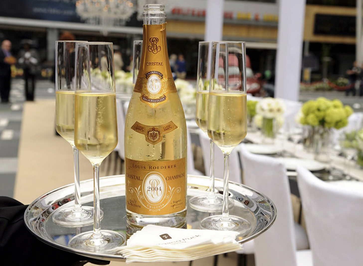 Все о шампанском кристалл