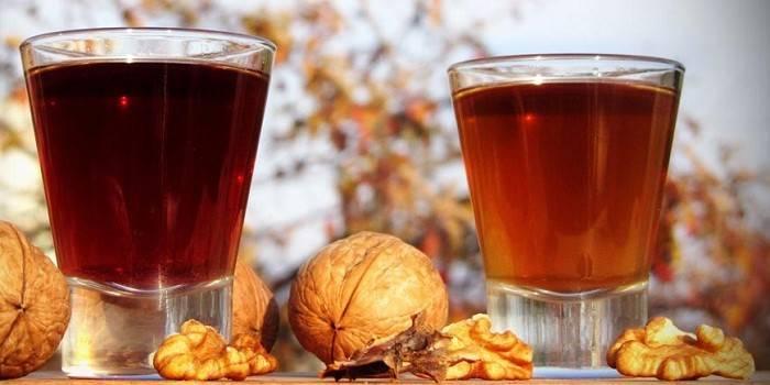 Домашний самогон на грецких орехах – рецепт настойки