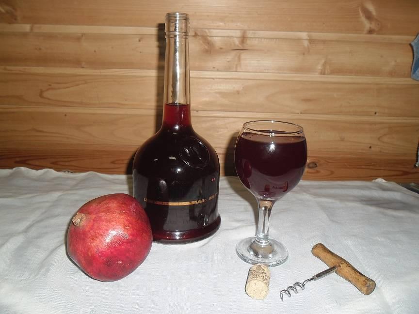 Гранатовое вино в домашних условиях: техника приготовления!