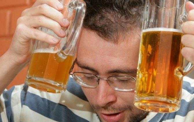 Как пиво влияет на давление
