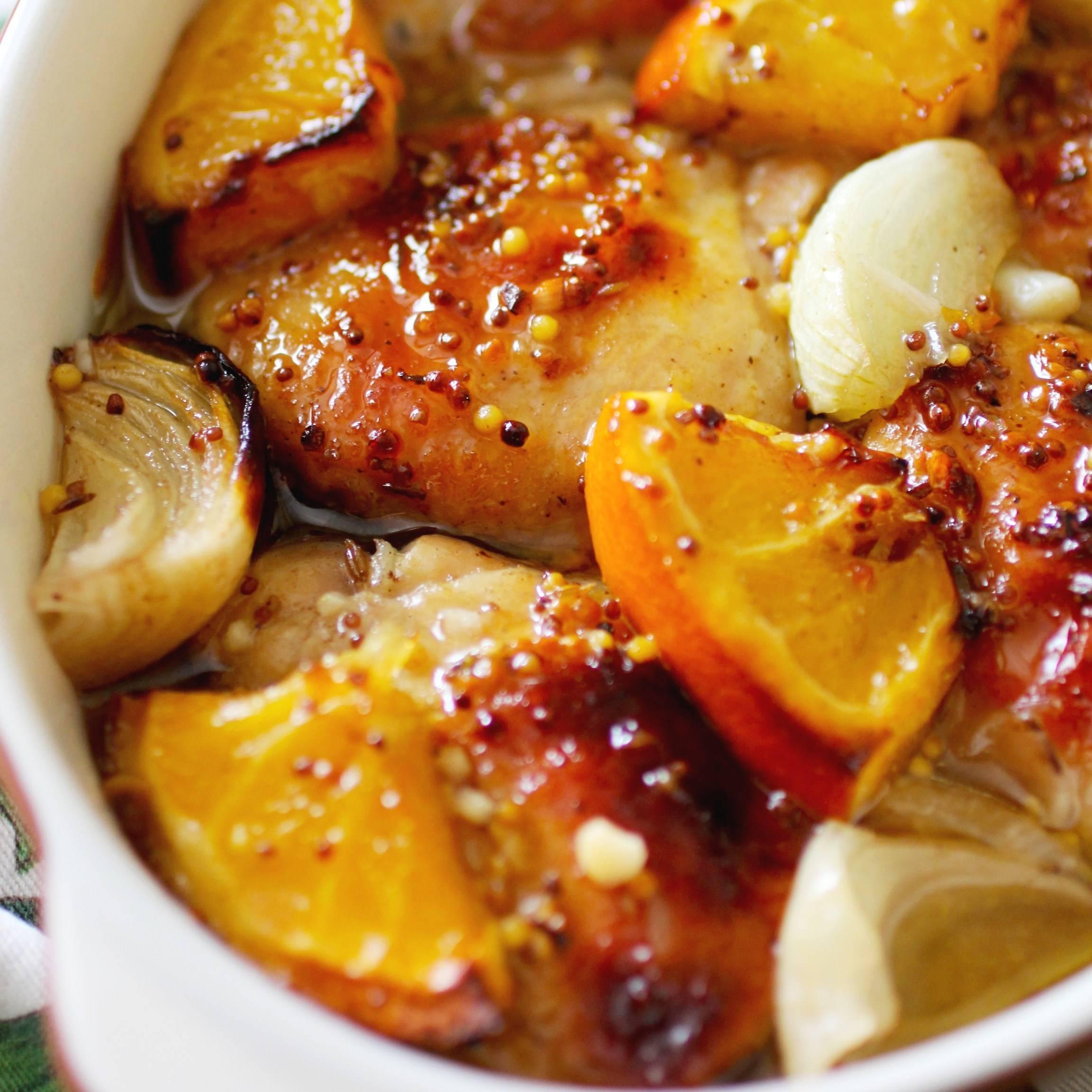 Курица, маринованная по-американски – кулинарный рецепт