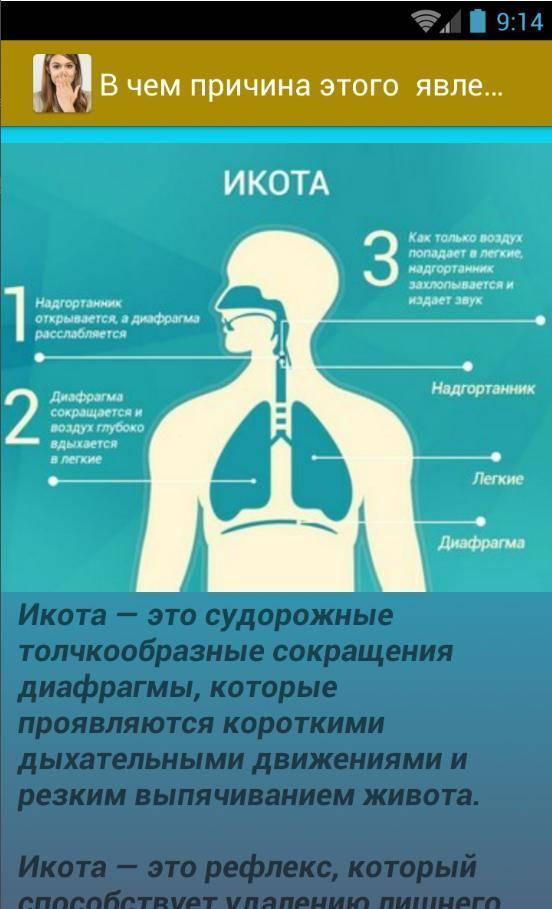 Икота при курении: почему возникает и как избавиться