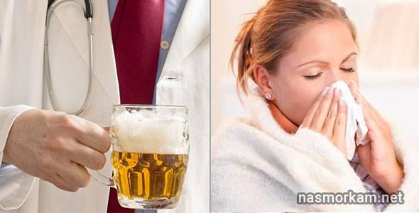 Горячее пиво: от простуды, от кашля, от горла, а также рецепты приготовления теплого пива при ангине и болях в горле