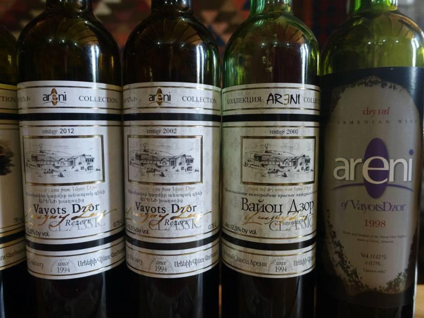 Традиции виноделия и изготовления коньяка в армении